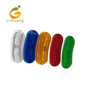 JG-B-06 Promotional Practical Plastic Reflex Bike Spoke Reflectors