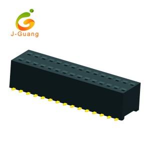 Best quality Round Connectors - JG165-J 1.0 0.8mm 2*40 Smt Female Headers – J-Guang