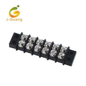 49-9.5 2 Row 9.5mm High Current Barrier Terminal Blocks