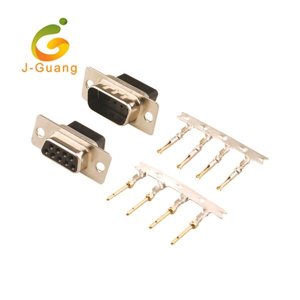 JG136-A Crimp Type Black housing Male Female D Sub Connectors Featured Image
