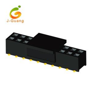 JG123-O 2.54mm 2 rows Smt Type H=8.5/5.0mm Female Header