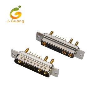 China Cheap price Terminal Block Connectors - D-SUB, JG134-O, machine pin d-sub dip type(10+3) 13w3 – J-Guang