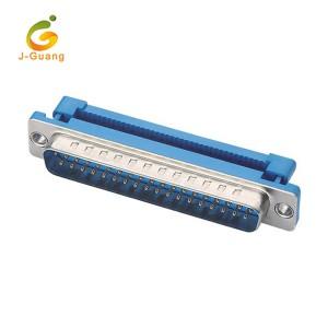 JG136 Custom D-sub DB37Pin Idc Flat Cable Connector