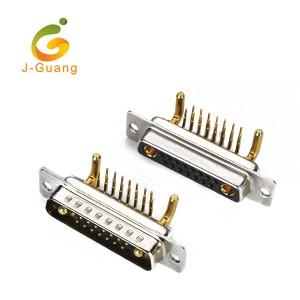 JG134-E Machine Pin  R/A Type (15+2) 17w2 D-sub