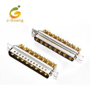 JG133-I Machine Pin Solder Type 8P 8w8 D-sub
