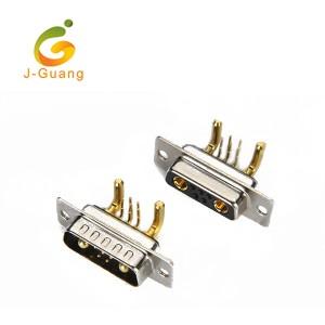 JG134-D (5+2) 7w2 Machine Pin  R/A Type D-sub Connectors