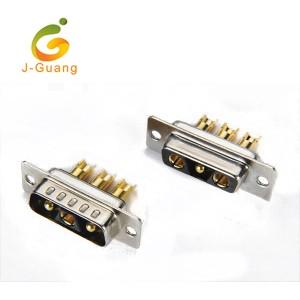 JG133-F Machine Pin Solder Type (2+1) 3V3 Db9 Connector
