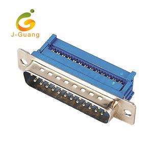 OEM Manufacturer D Sub Connectors - JG136-C Blue Color Flat Cable D Sub Connectors – J-Guang